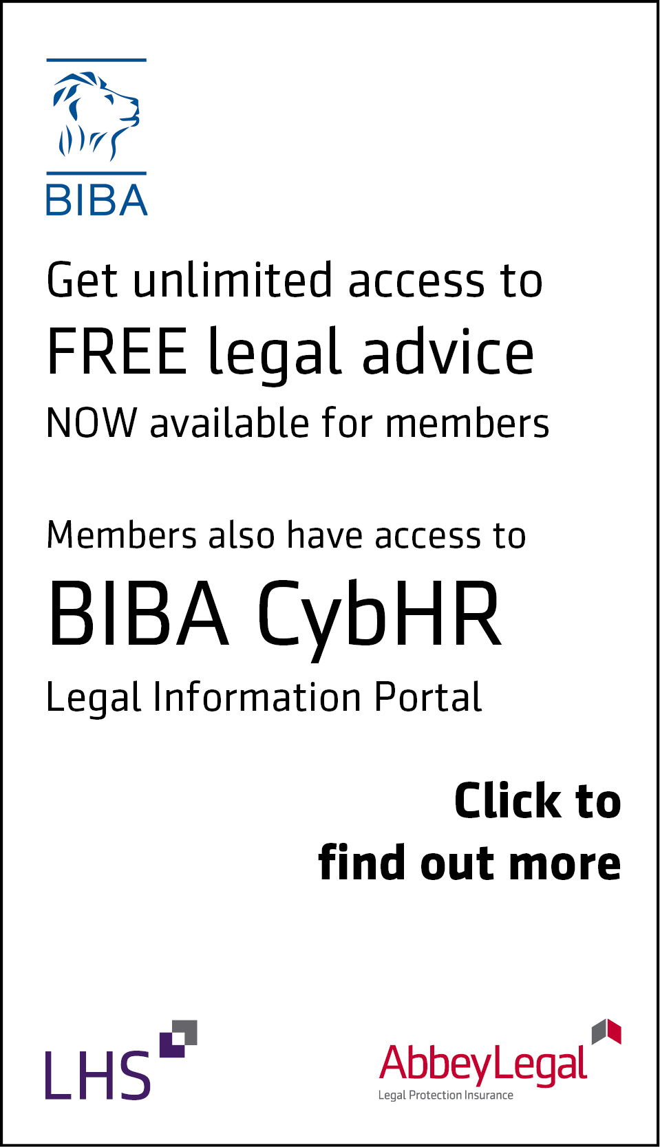 BIBA CybHR advert